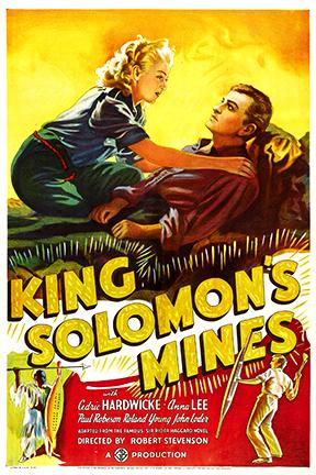 King Solomon's Mines - 1937 - Poster 1