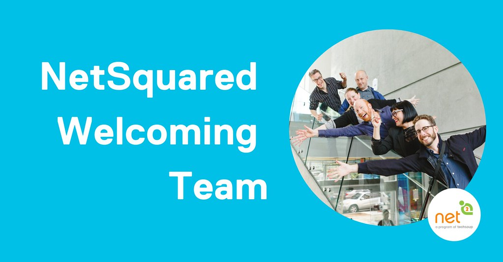 NetSquared Welcoming Team Banner