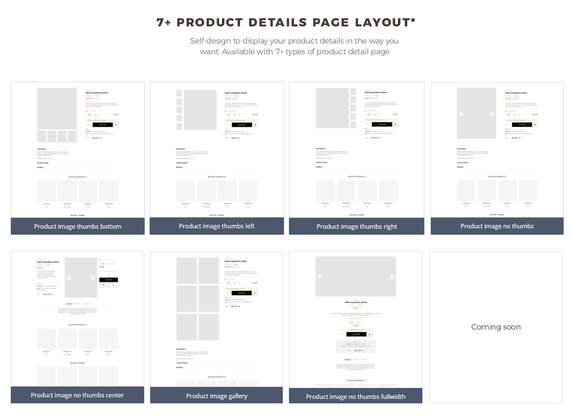 Multi-Product-Detail-Page-Layouts - Leo Lana -for- Fashion-and-Accessories-theme