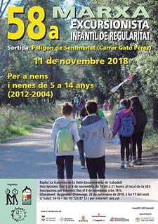 58a Marxa Excursionista Infantil de Regularitat