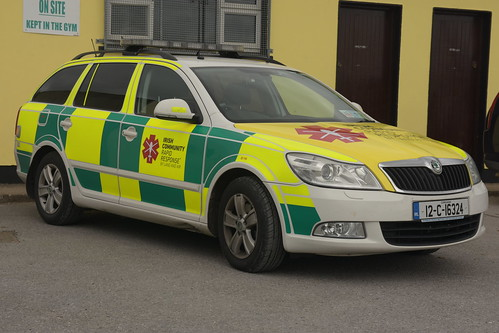 Irish Community Rapid Response 2012 Skoda Superb Eleg RRV 12C16324