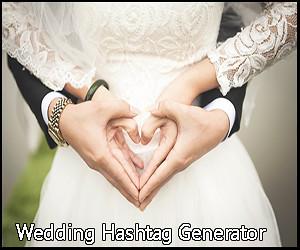 Wedding Hashtag Generator The Knot.Wedding Hashtag Generator Justhashed
