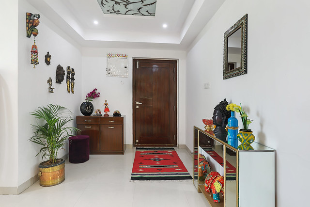 Traditional Indian apartment design
