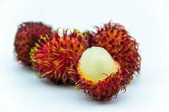 Closeup of Tropical Fruits