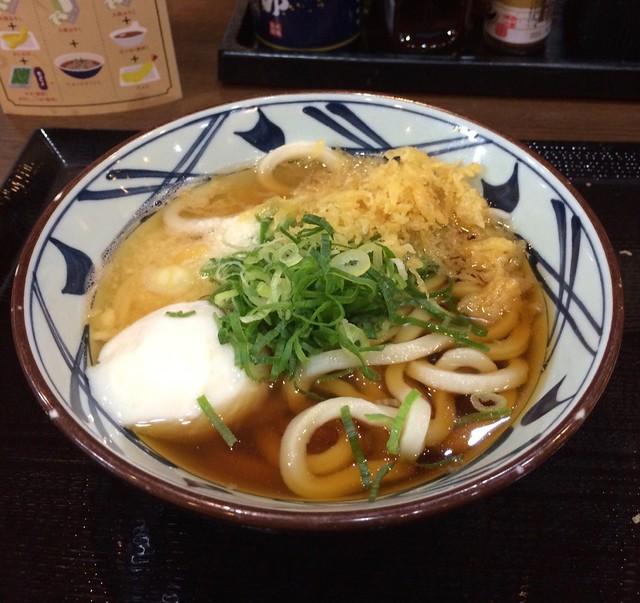 丸亀製麺のトロ玉うどん