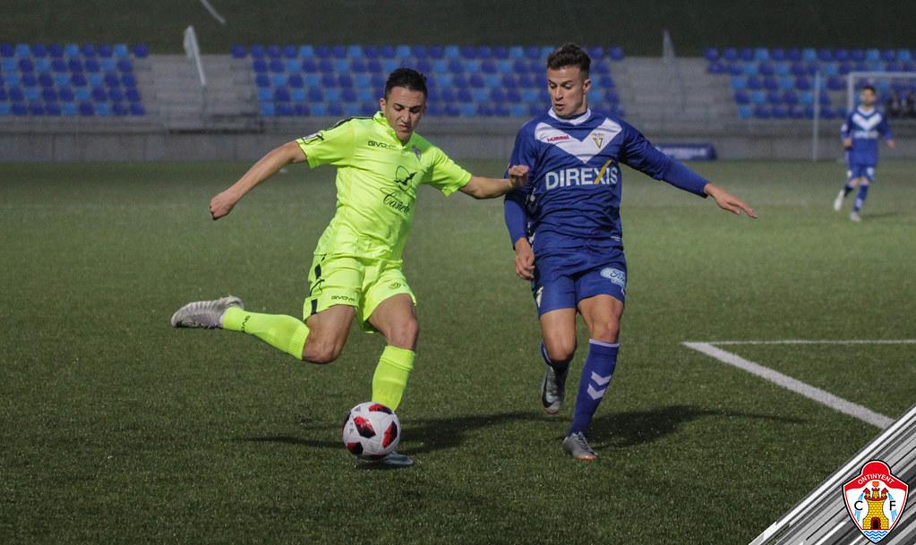 CF Badalona 4-1 Ontinyent CF