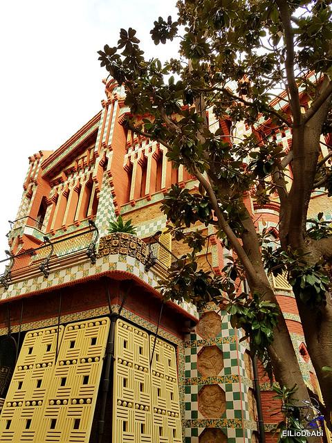 Casa Vicens primera casa modernista diseñada por Gaudi (6)