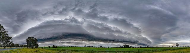 Storm Cell near Wagga Wagga