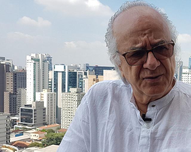 Boaventura recebeu a reportagem doBrasil de Fato, na cobertura do hotel em que hospedou em São Paulo no fim de dezembro de 2018 - Créditos: (Foto: Lu Sudré)