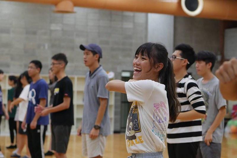 總籌科技110邱昱璇表示,想將跳啦啦的感動帶給下一屆,希望學弟妹們可以感受到。圖/林卉瑩提供