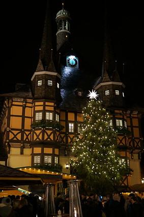 Rathaus Wernigerode, Sony NEX-5R, Sigma 30mm F1.4 DC DN | C 016
