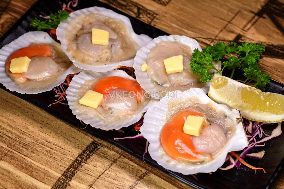 Ukiyo-Osaka-Yakiniku-Scallops