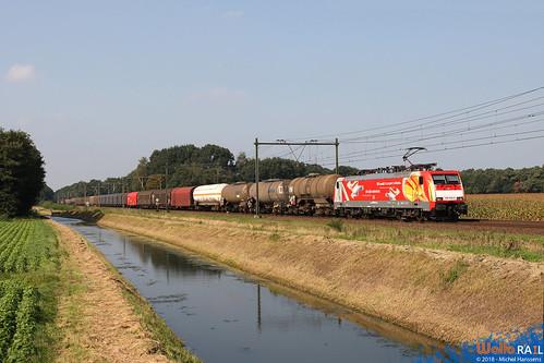 189 065 DB Cargo. Deurne . 20.09.08