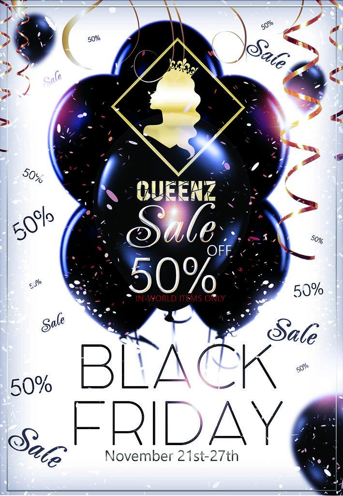 QUEENZ | Black Friday Sale!! - TeleportHub.com Live!