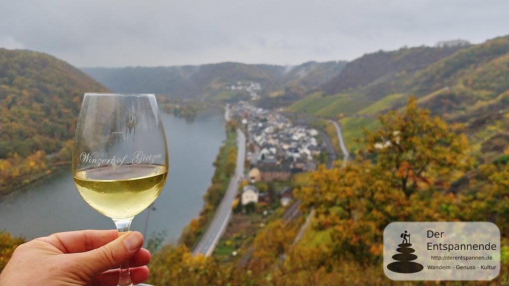 Weinprobe vom Winzerhof Gietzen auf der Rabenlay, Hatzenport