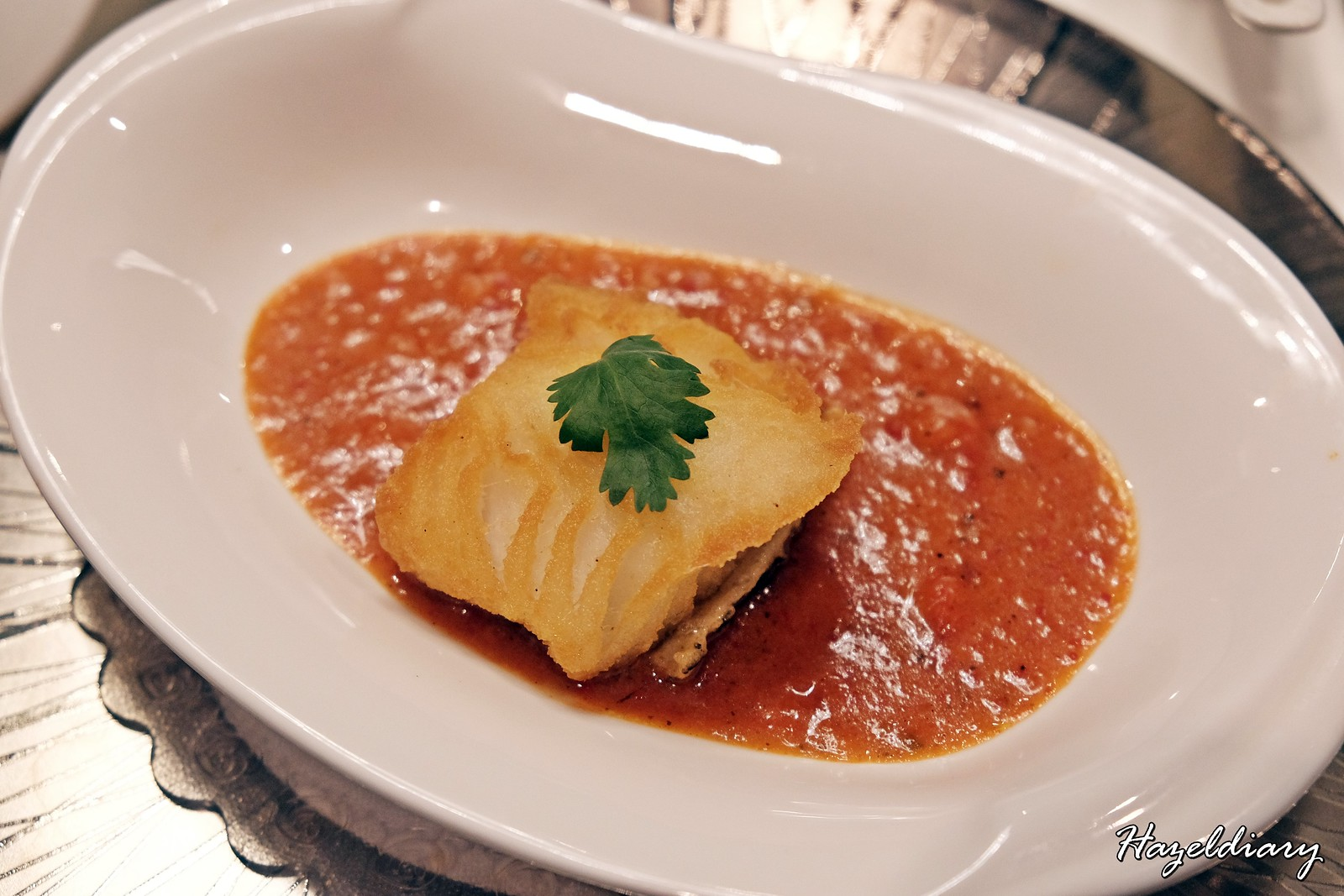 Jumbo Seafood Ion Orchard restaurant-Cod Fish
