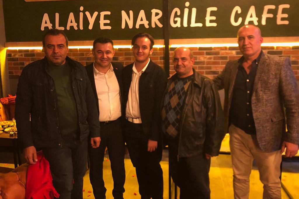 Mustafa Guzyaka'ya sürpriz kutlama