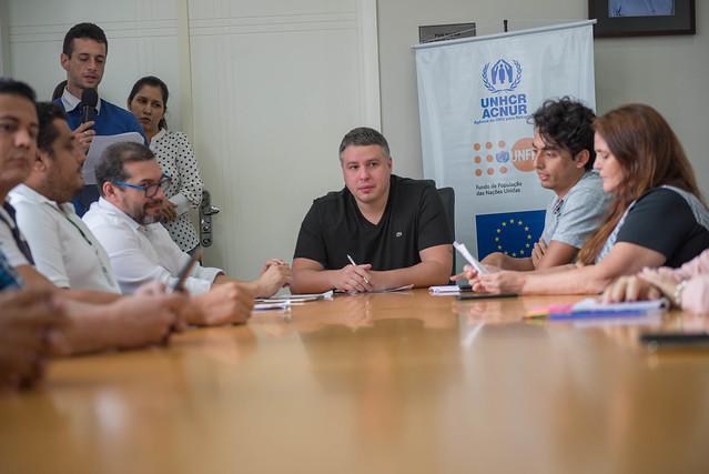 04.12.18 Lançamento da corrida Manaus refugiados