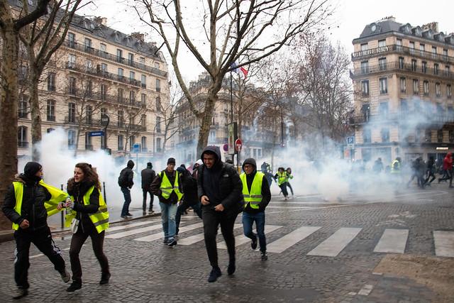 "Paris, 08/12/18 - Gilets jaunes ""acte 4"""