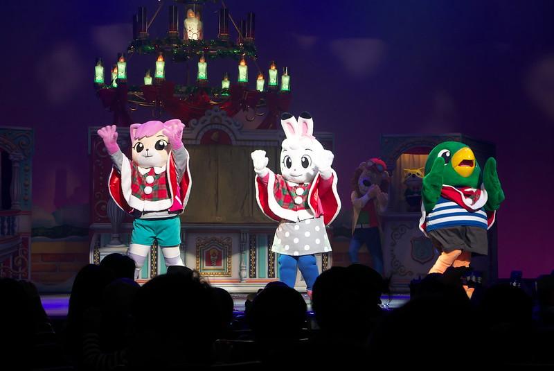 しまじろうコンサート サンタのくにのクリスマスキャンドル