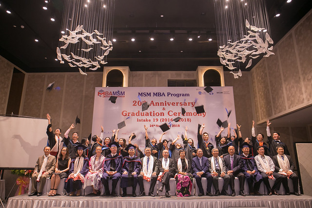MSM MBA 20th Anniversary & Intake 19 Graduation Ceremony