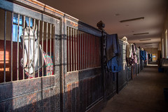 The stables at Badminton
