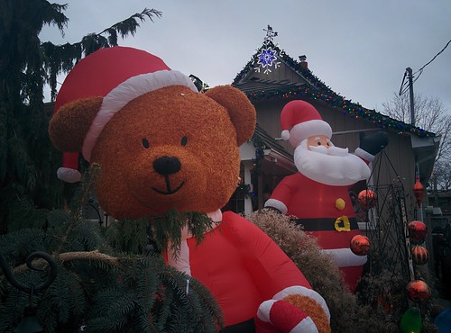 Chris and Adam's decorations (2) #toronto #etobicoke #longbranch #holidays #christmas #frontyard #latergram