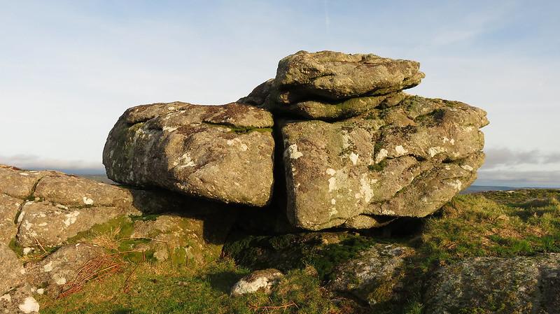 Southcott Rocks middle pile
