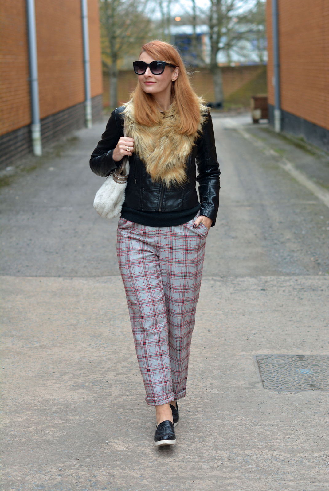 8 Ways to Wear Tartan / Checks / Plaid in Winter | Not Dressed As Lamb, over 40 fashion