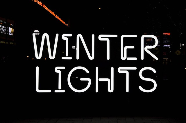 Winter Lights, Canary Wharf