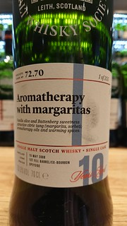 SMWS 72.70 - Aromatherapy with margaritas