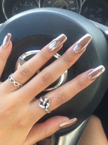 Newest Chrome Nail Art Designs 2019 Top 77 Design Our Nail