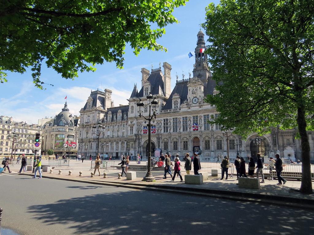 Гревская Площадь  теперь площадь Отель-де-Виль