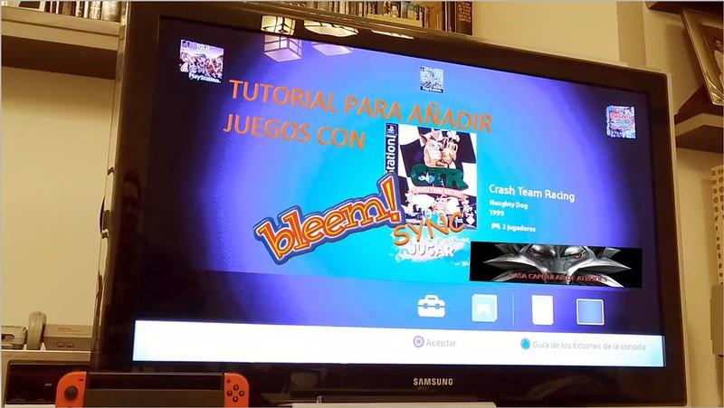 Añadir juegos a la Playstation Classic Mini con BleemSync y