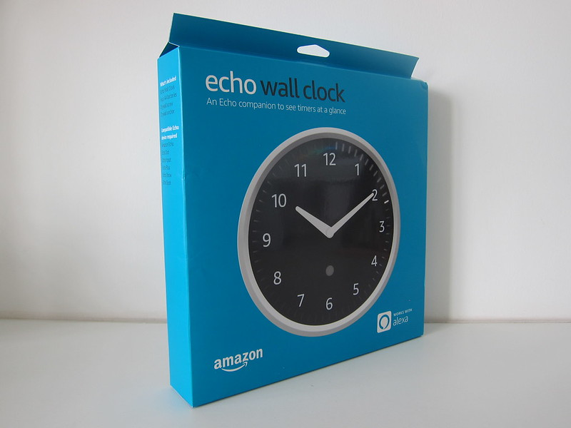 Amazon Echo Wall Clock -  Box