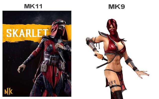 Mortal Kombat 11 - Scarlet va boshqalar Scarlet