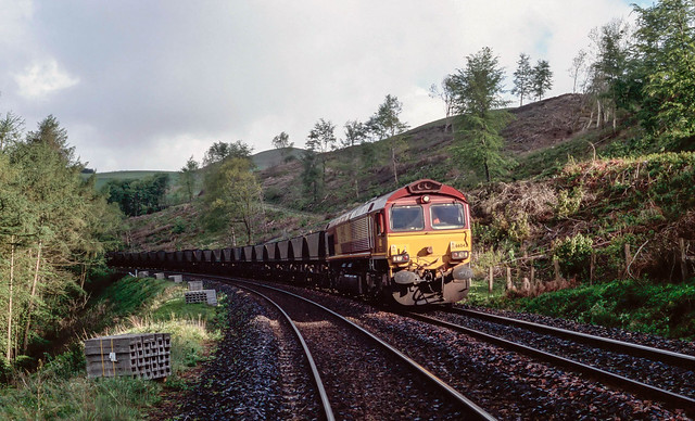 66 042 on Campbell's Curve, Enterkinfoot.