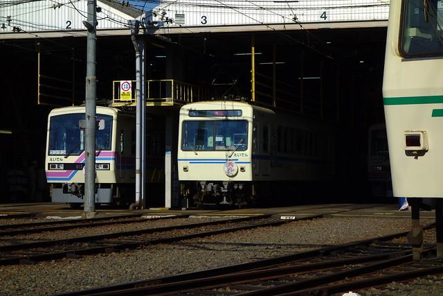 叡山電車×きららファンタジア ラッピング車両#04 (2019/01)