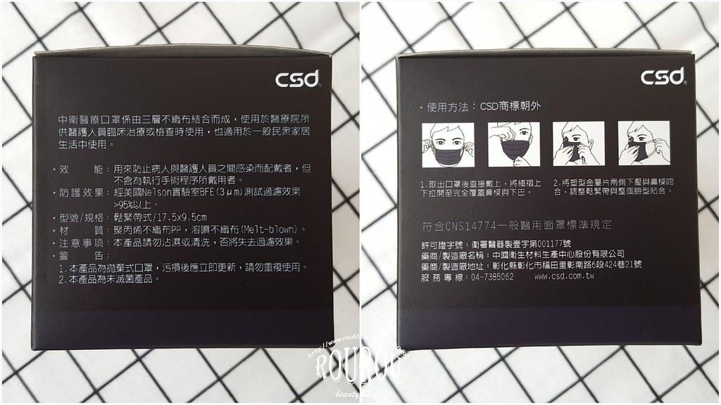 中衛醫療口罩-深丹寧2