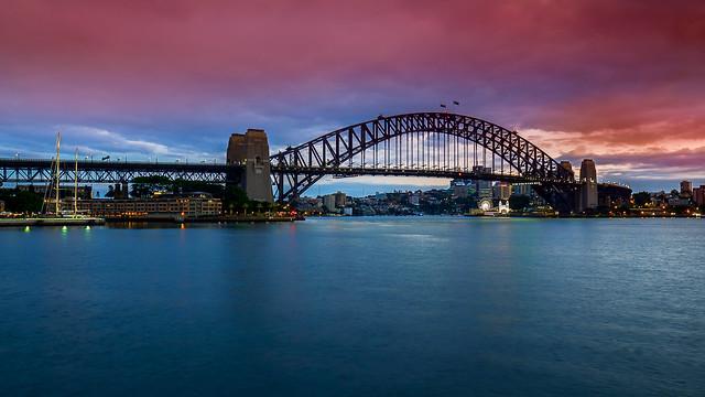 Sydney Harbour Bridge, Olympus E-M1, Olympus M.Zuiko Digital ED 7-14mm F2.8 Pro