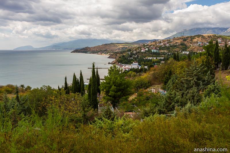 Крым, побережье Черного моря