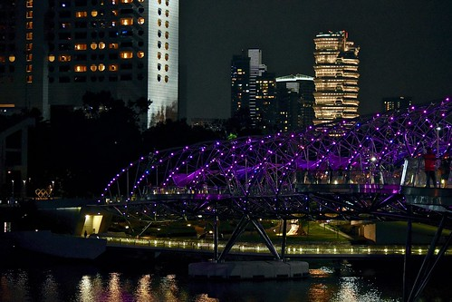 Singapore by Night, Marina Reservoir, Central Business District