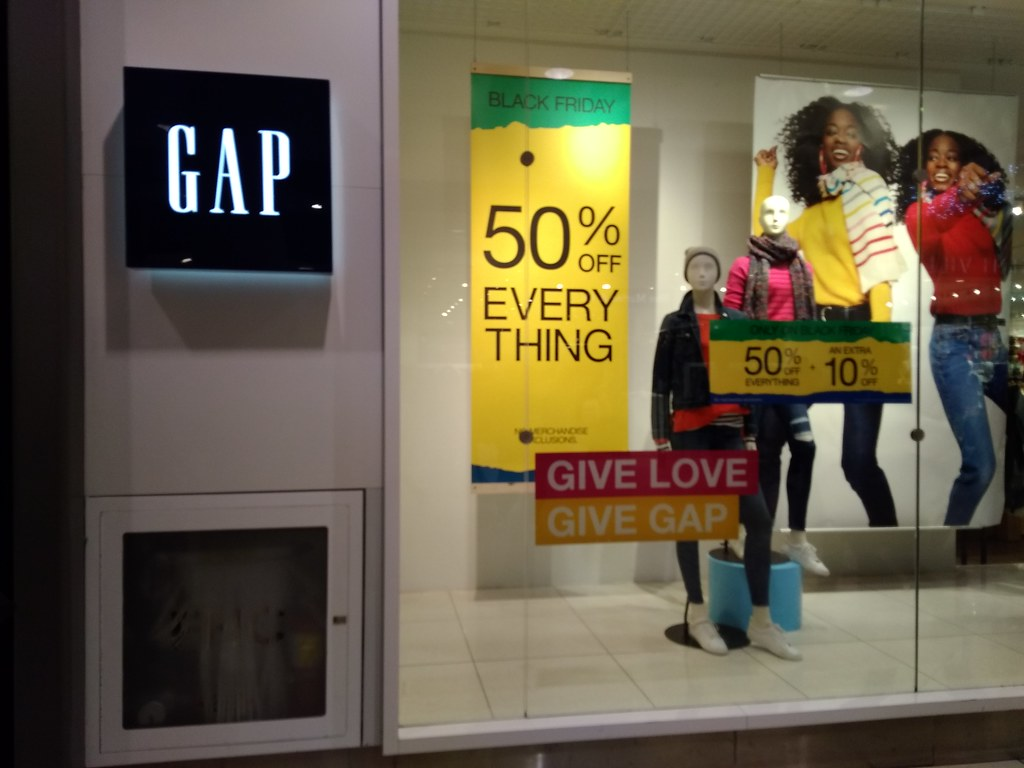 GAP 50% OFF Everything