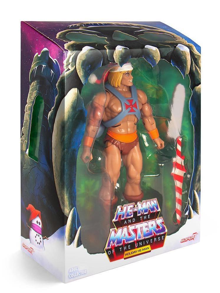 這把神劍看起來也太好吃了~ Super7《太空超人》聖誕佳節太空超人 Holiday He-Man 7吋人偶作品