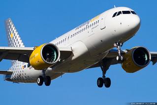 Vueling Airbus A320-271N cn 8648 F-WWDC // EC-NAZ