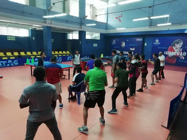 Peru (Lima) - 2018 ITTF/PTT L1 Course