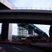 Ramps of Yokohama Ring Expressway Northwestern Route Being Constructed at Yokohama-aoba Interchange