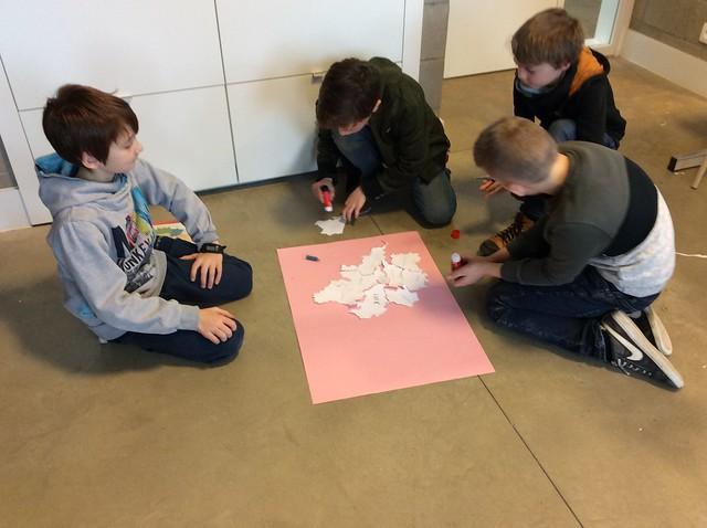 Klas 4: De kaart Van België leren kennen.