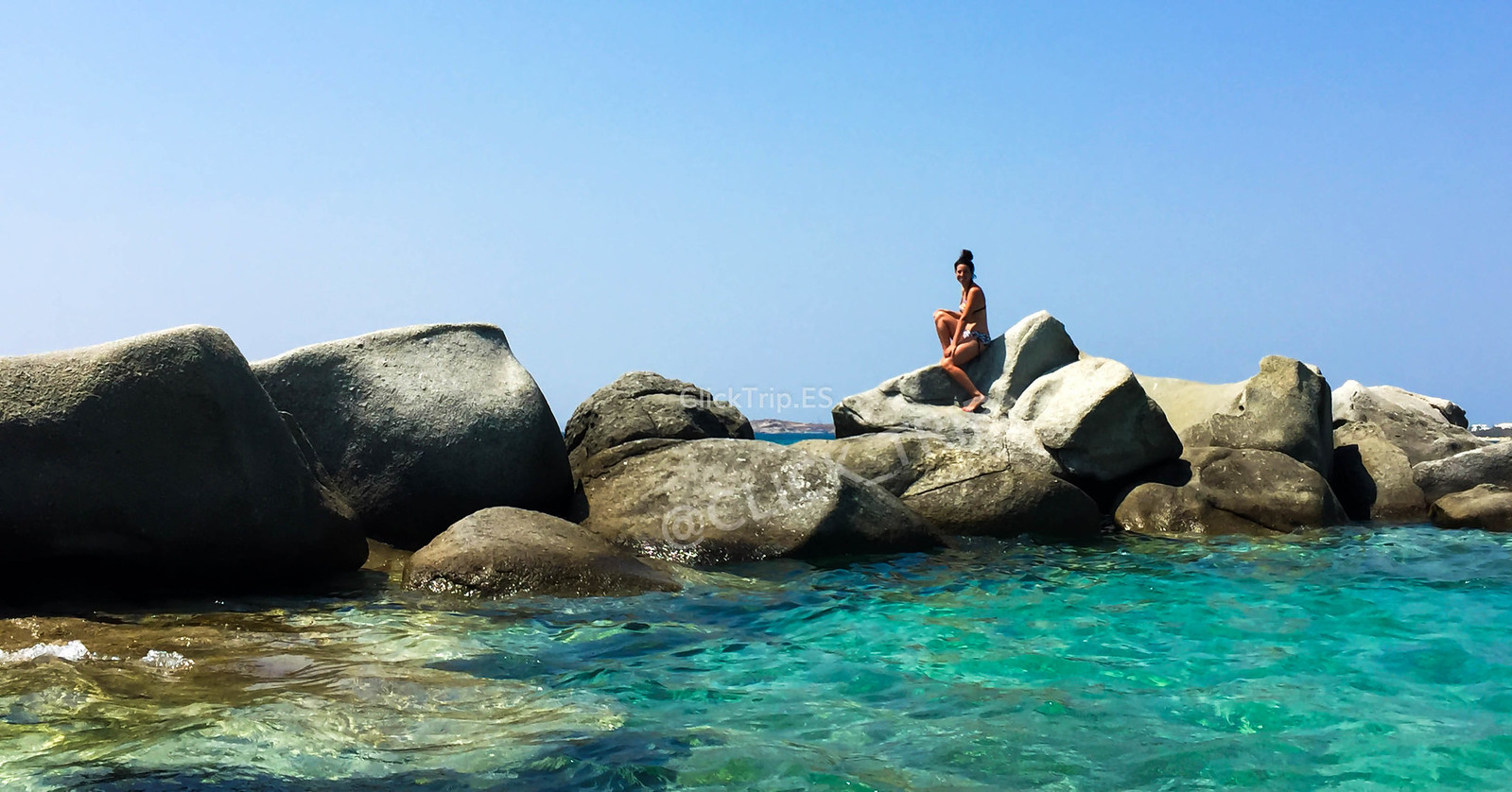 · Playa Agia Anna, Naxos ·