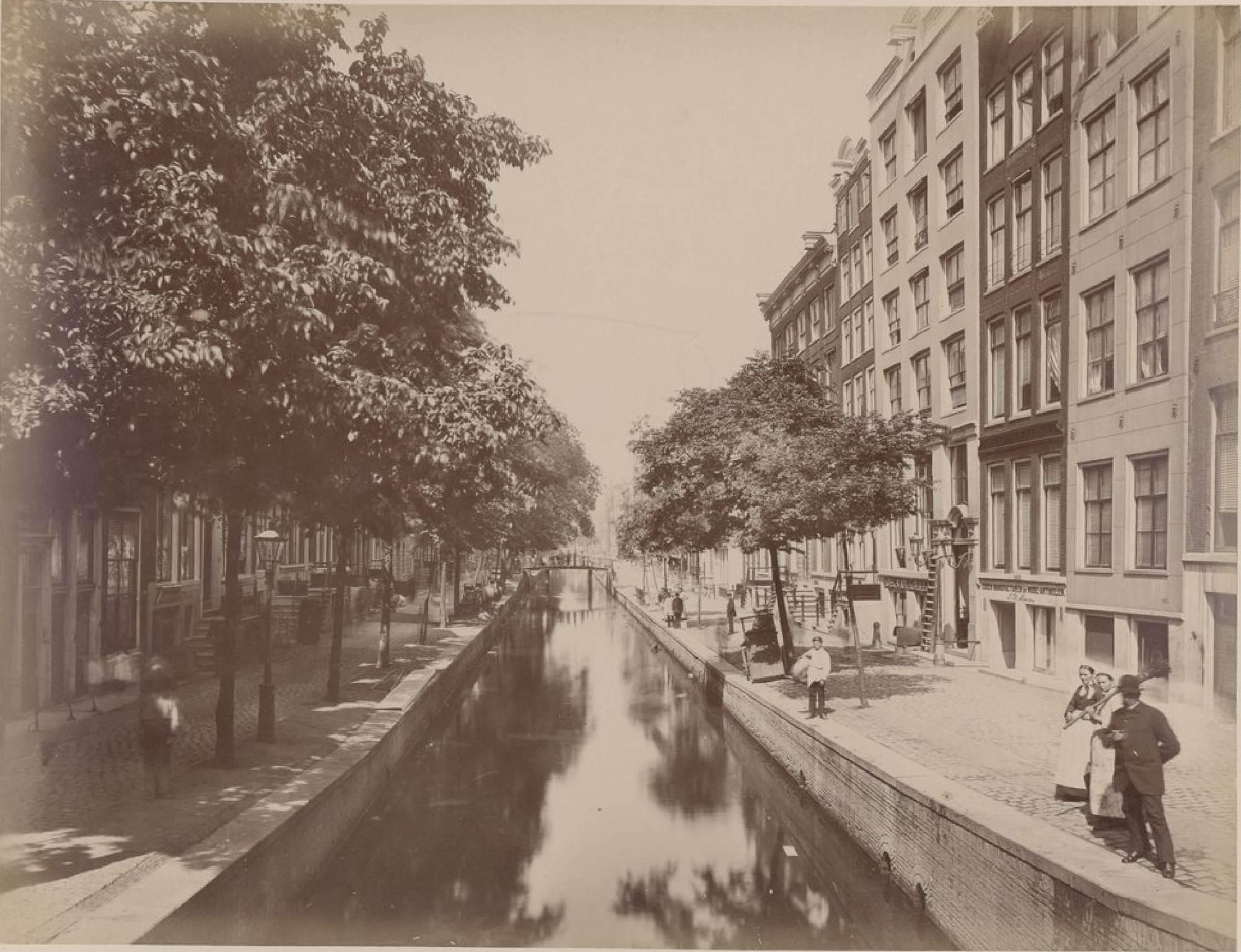 Амстердам. Аудезайдс Ворбургвал, 15 мая 1888